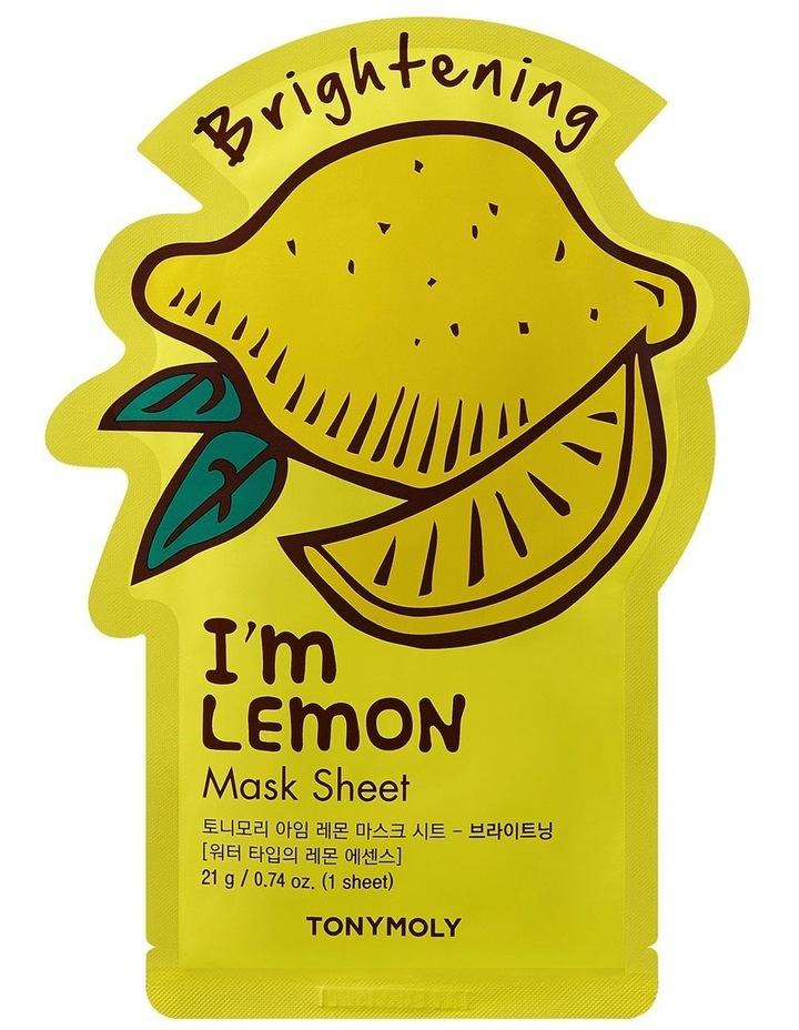 I'm Lemon Mask Sheet image 1