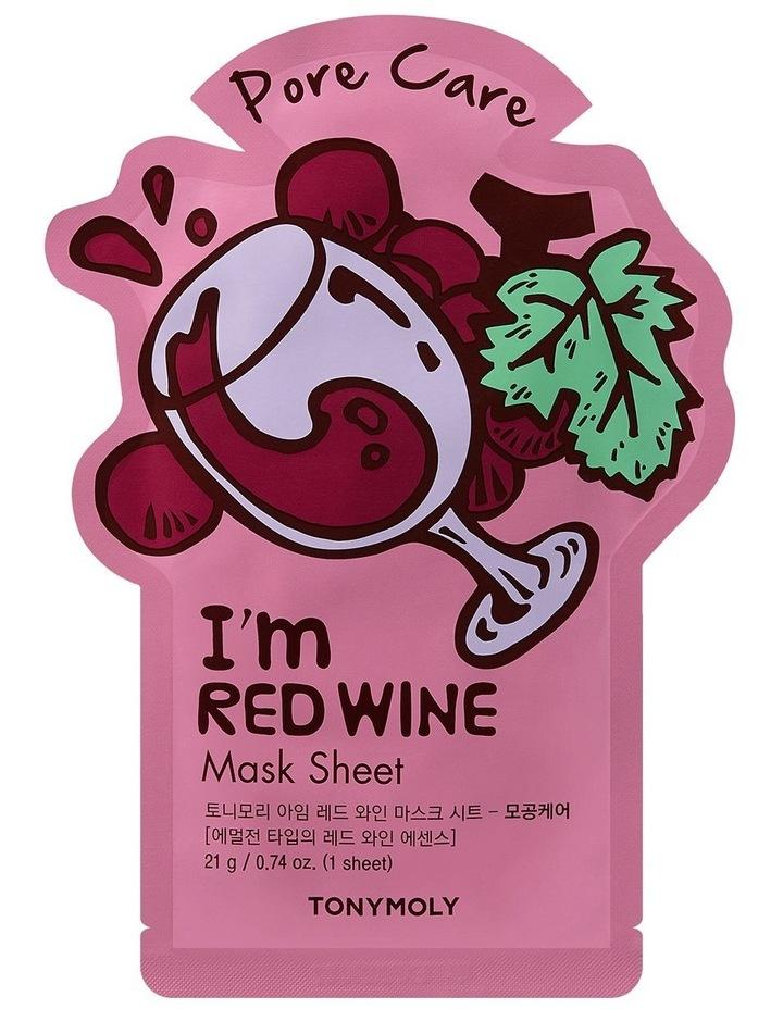 Im Red Wine Mask Sheet image 1