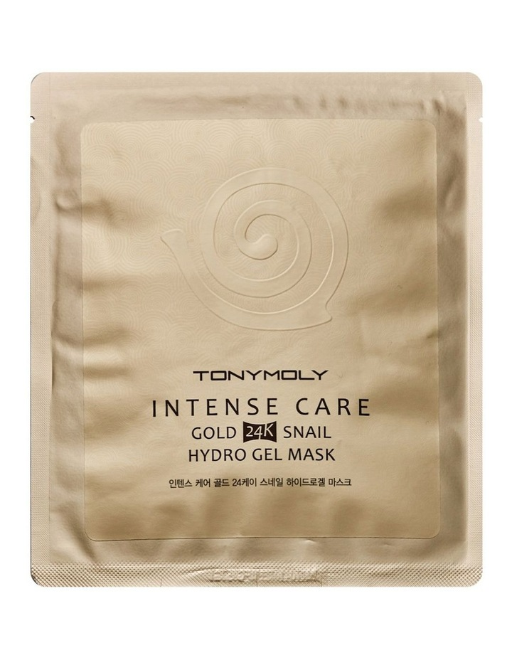 Gold 24K Snail Gel Mask Sheet image 1