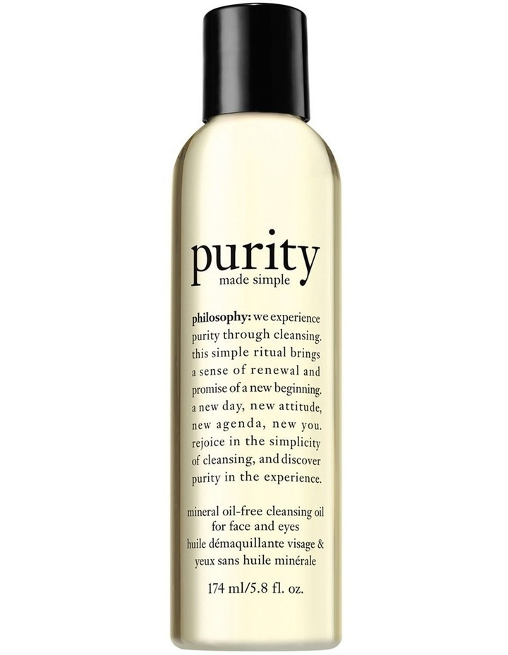 Purity Made Simple Mineral Oil-Free Cleansing Oil For Face And Eyes image 1