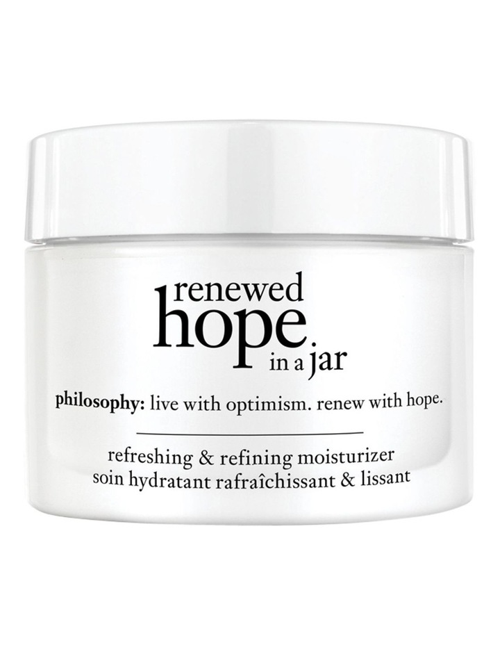 Philosophy Renewed Hope In A Jar Refreshing & Refining Moisturiser image 2