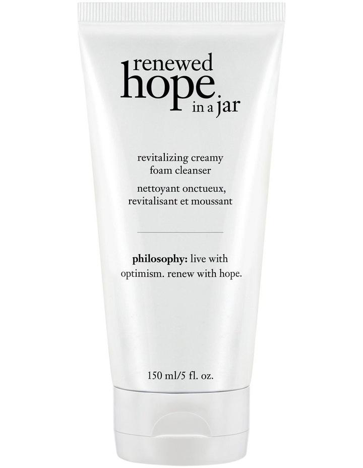 Renewed Hope In A Jar Revitalizing Creamy Foam Cleanser image 1