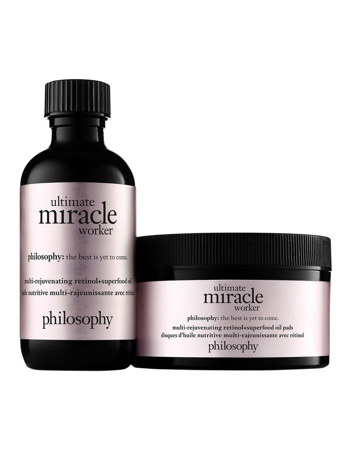 Ultimate Miracle Worker Multi-Rejuvenating Retinol   Superfood Oil Pads image 1
