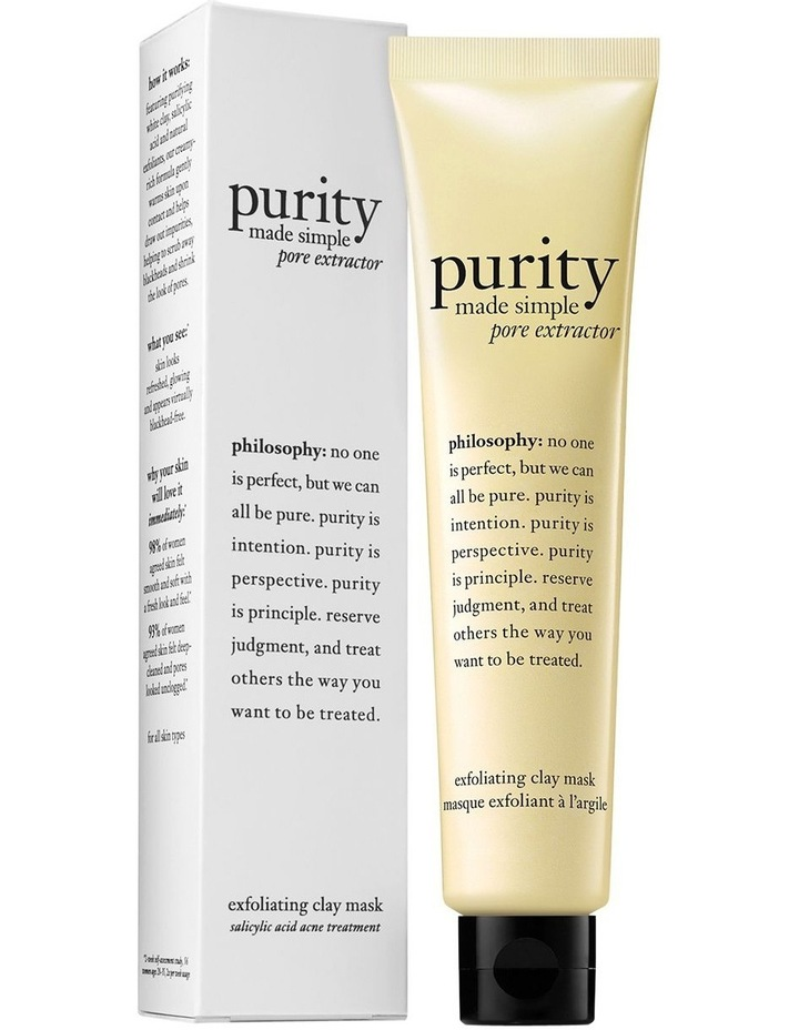 Purity Made Simple Exfoliating Clay Mask image 1