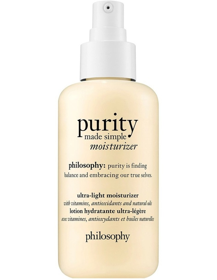 Purity Made Simple Ultra-Light Moisturizer image 1