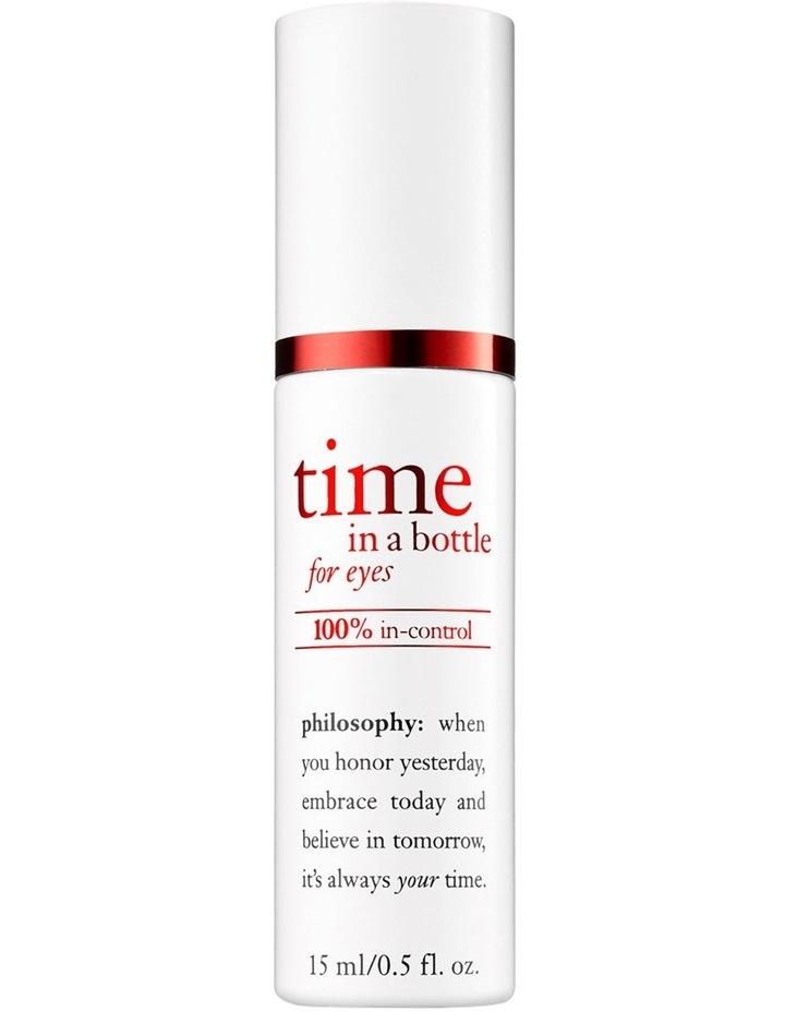 Time In a Bottle 100% in-control Resist Renew Repair Eye Serum image 1