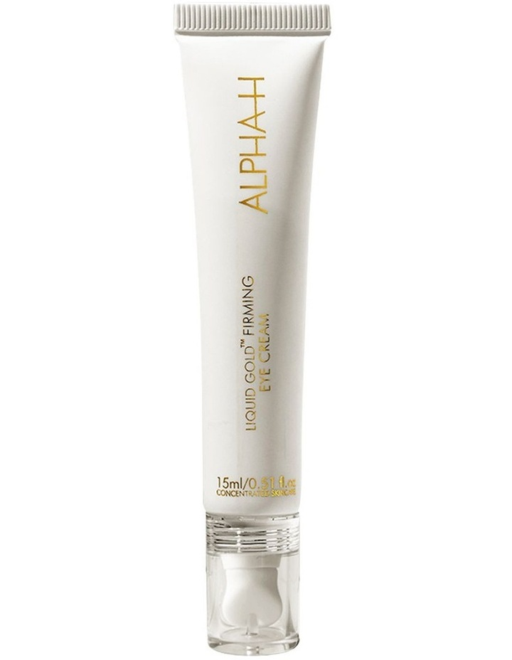 Liquid Gold Firming Eye Cream with Lime Pearl AHAs image 1