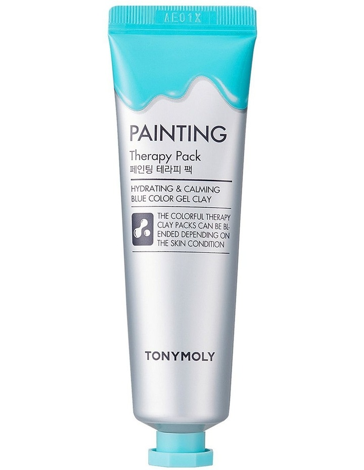 Painting Therapy Pack Hydrating & Calming Blue image 1