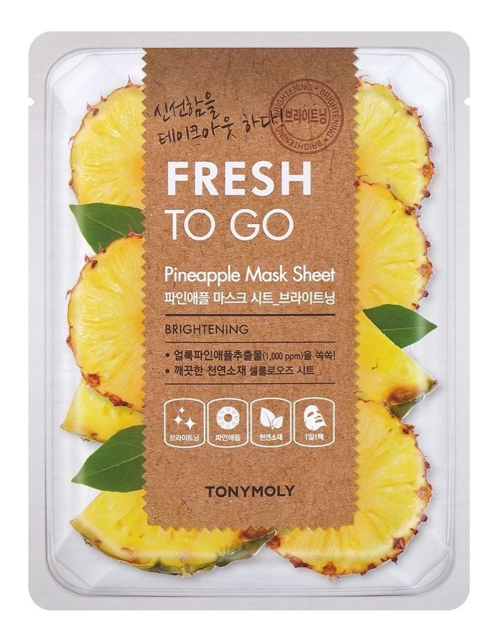 Fresh To Go Pineapple Mask Sheet image 1