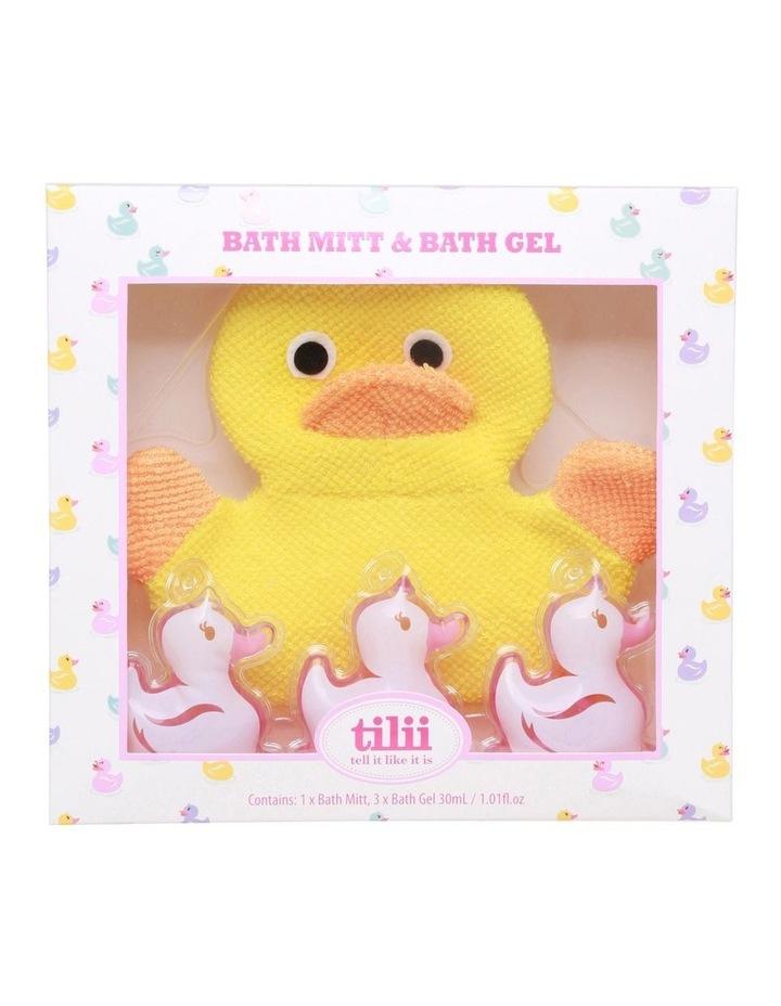 Bath Mitt and Bubble Bath & Body Wash image 2