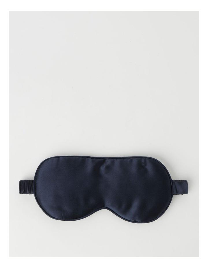 Silk Eye Mask Navy image 1