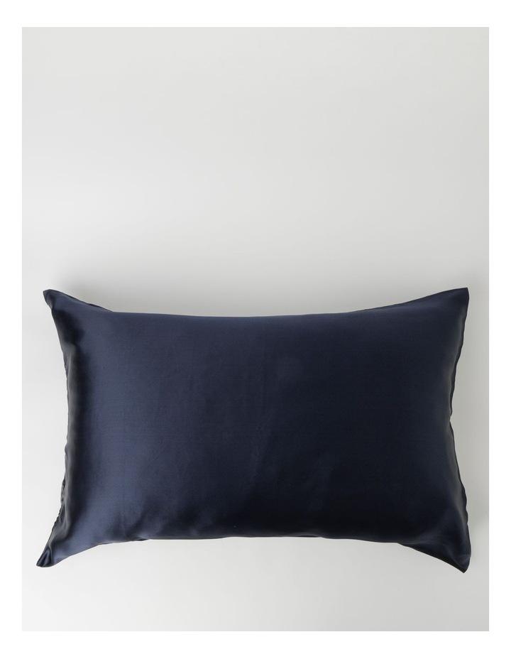 Silk Pillow Slip Navy image 1
