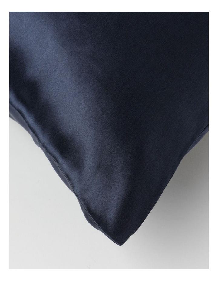 Silk Pillow Slip Navy image 2