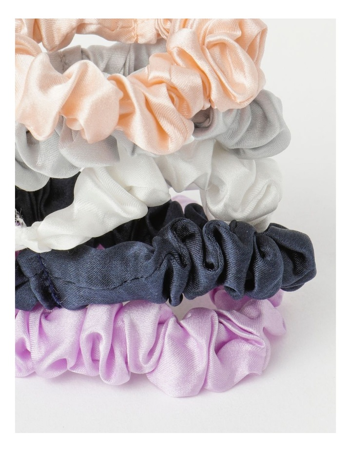 Slim Silk Scrunchie Pack image 3