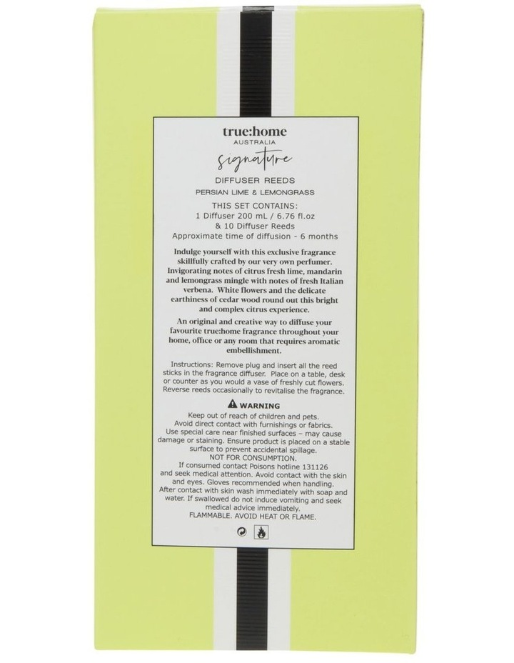 Signature Diffuser Persian Lime & Lemongrass image 2
