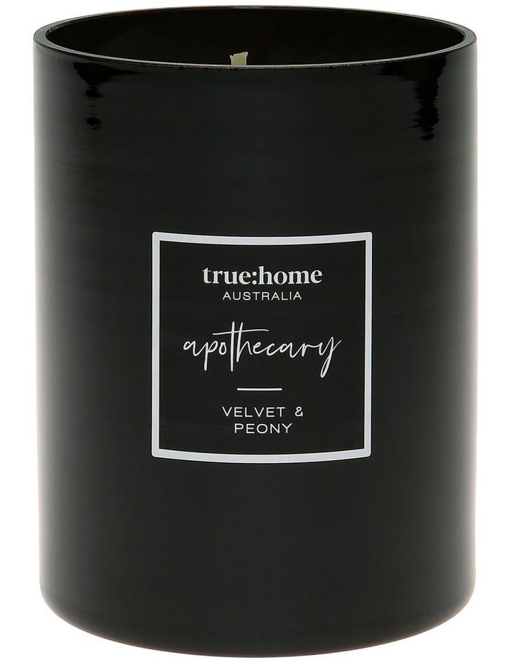 Apothecary Candle Velvet & Peony image 1