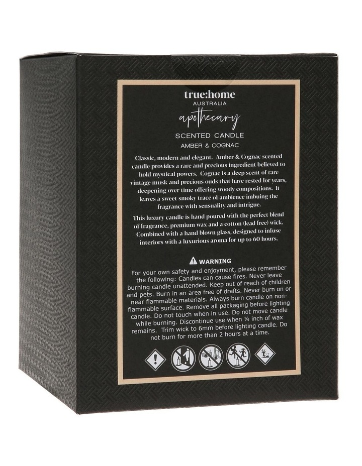 Apothecary Candle Amber & Cognac image 3