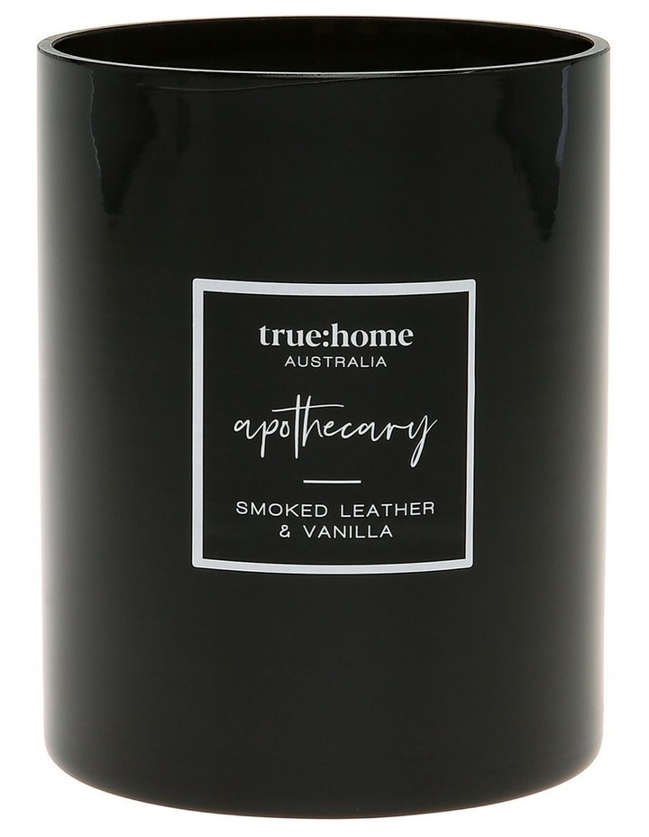 Apothecary Candle Smoked Leather & Vanilla image 1