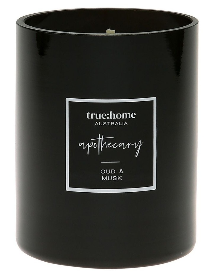 Apothecary Candle Oud & Musk image 1