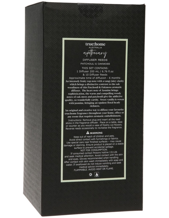 Apothecary Diffuser Patchouli & Oak Moss image 3