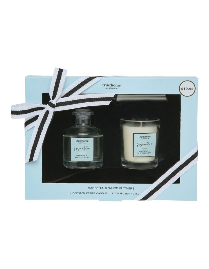 Signature Mini Candle and Diffuser Duo Gardenia & White Flowers image 1