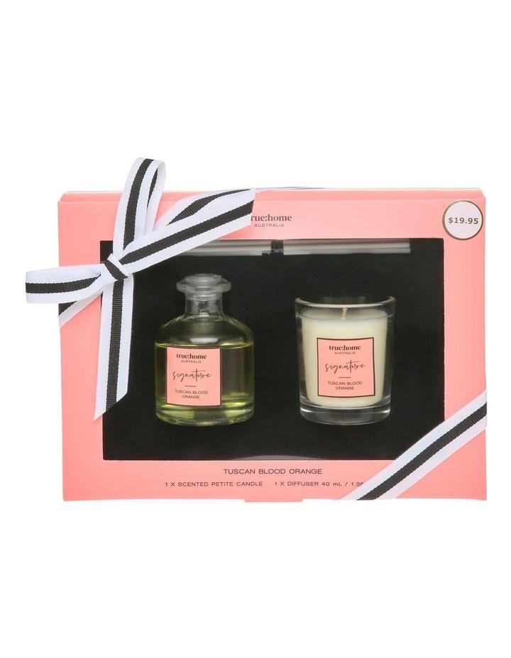 Signature Mini Candle and Diffuser Duo Tuscan Blood Orange image 1