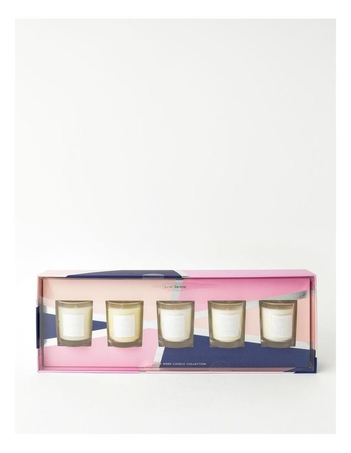Signature 5 Days of Christmas Mini Candle Set image 1