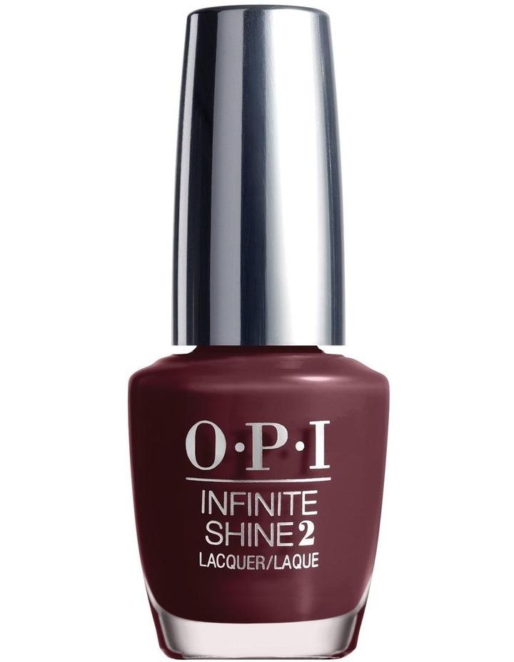 OPI Infinite Shine -Stick To Your Burgundies image 1