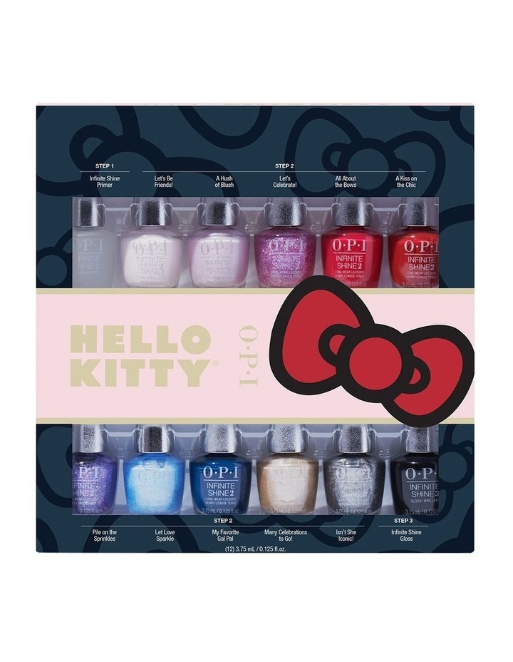 Hello Kitty Infinite Shine Mini 12 Gift Set by Opi