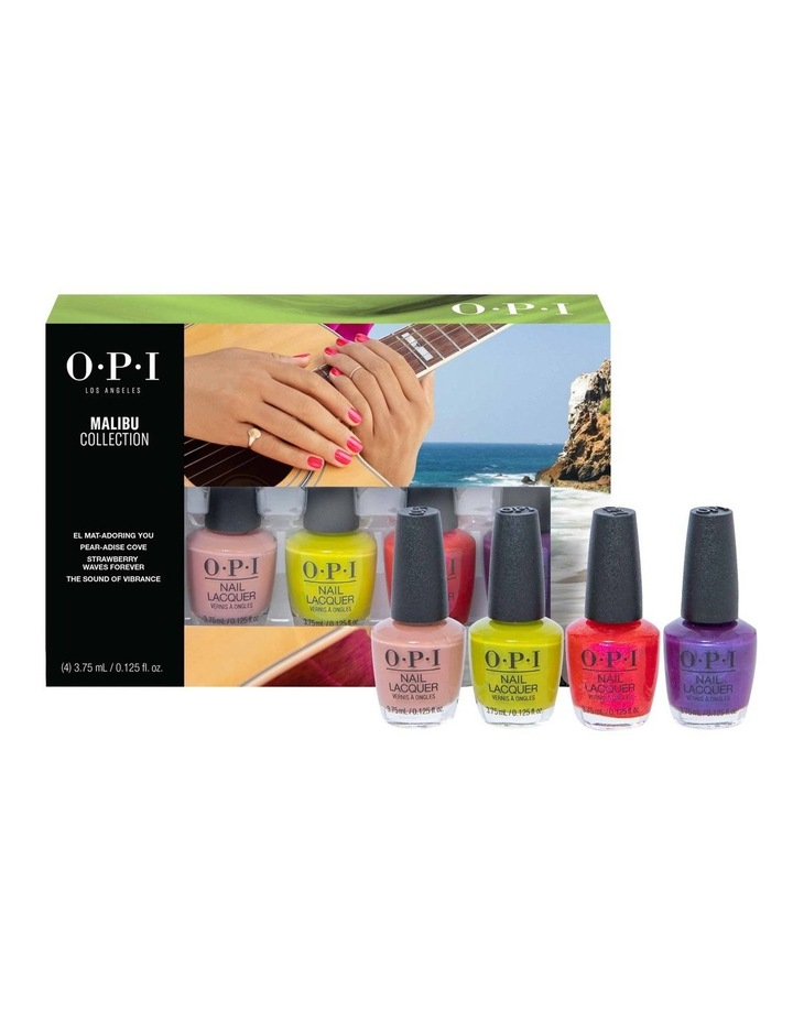 Summer '21 Nail Lacquer Mini 4-Pack image 1