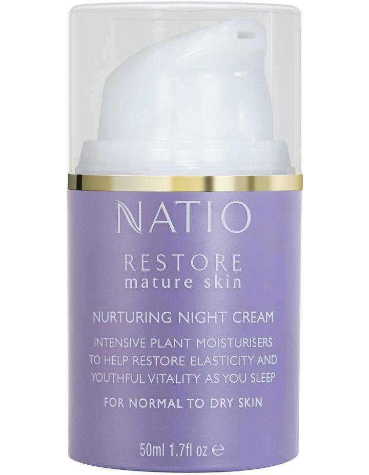 Restore Mature Skin Nurturing Night Cream image 1