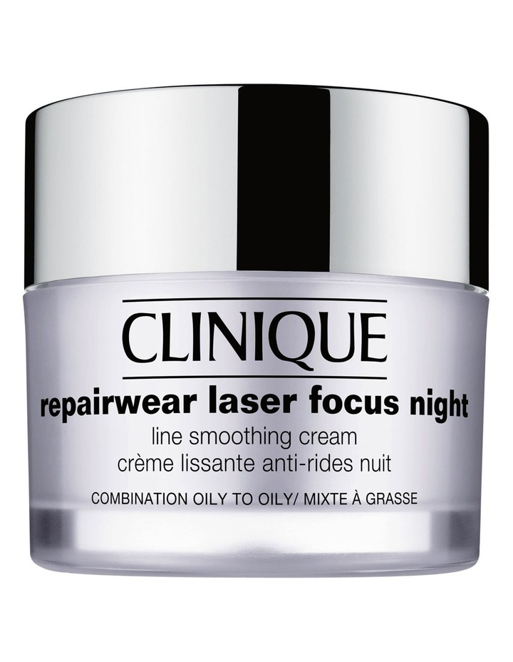 Repairwear Laser Focus Night Line Smoothing Cream - Combination Oily/Oily image 1