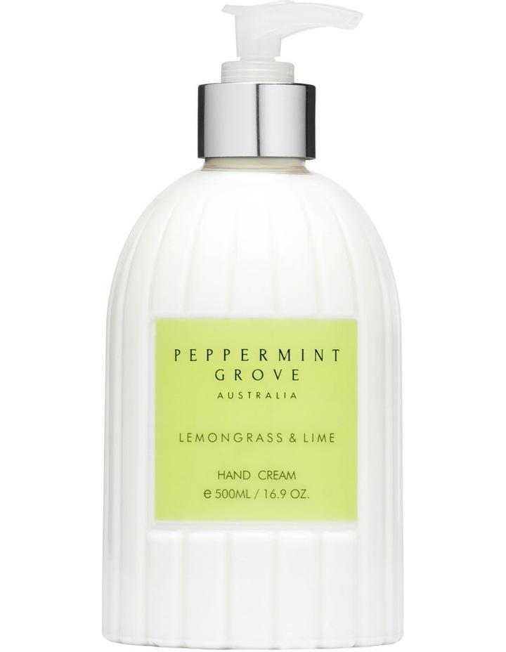Lemongrass & Lime Hand & Body Cream 500ml image 1