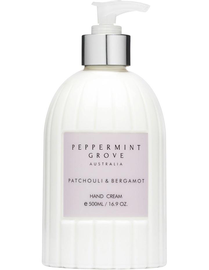 Patchouli & Bergamot Hand & Body Cream 500ml image 1