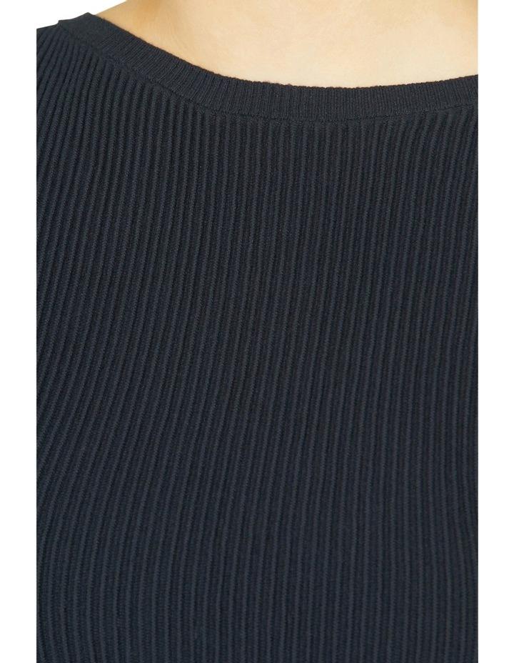 Cap Sleeve Rib-knit Top image 4