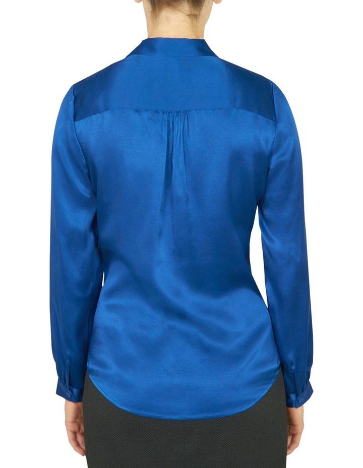 Remi Stud Collar Silk Shirt image 3