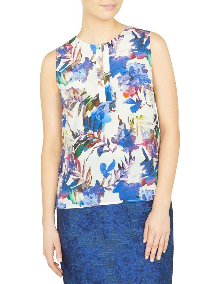 Amethyst Floral Print Top image 1