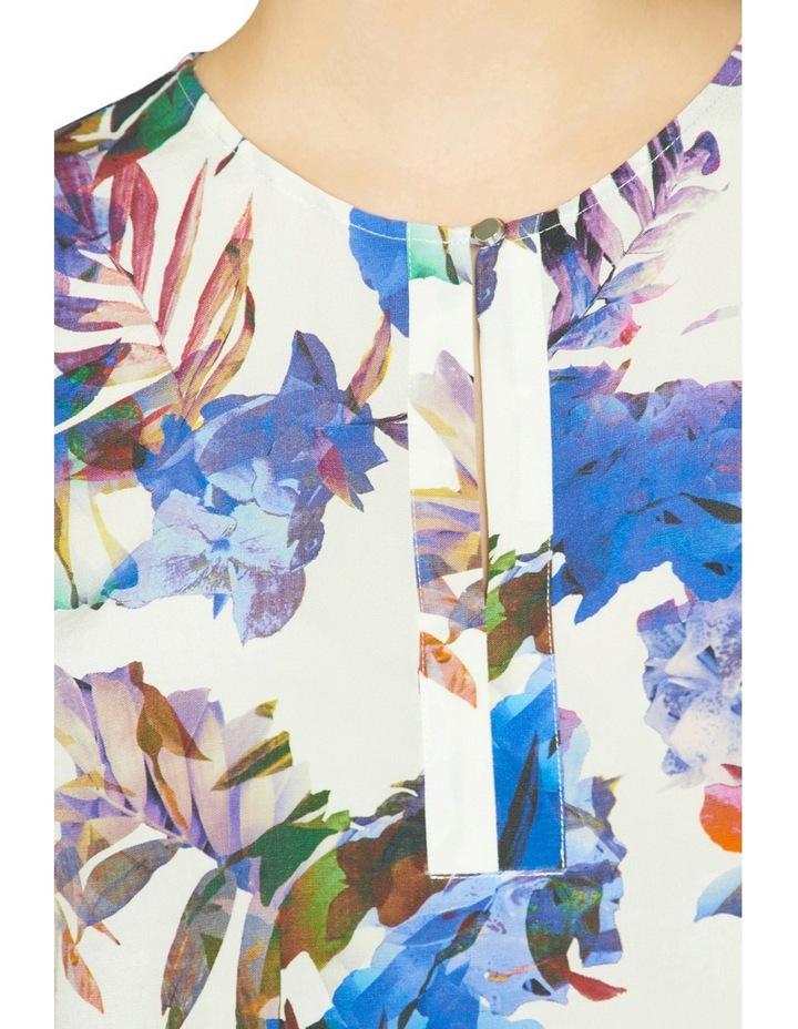 Amethyst Floral Print Top image 4