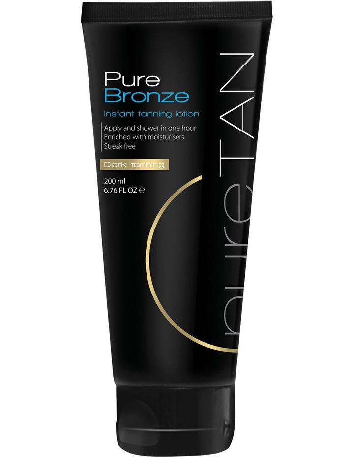 Pure Bronze Instant Tanning Lotion image 1