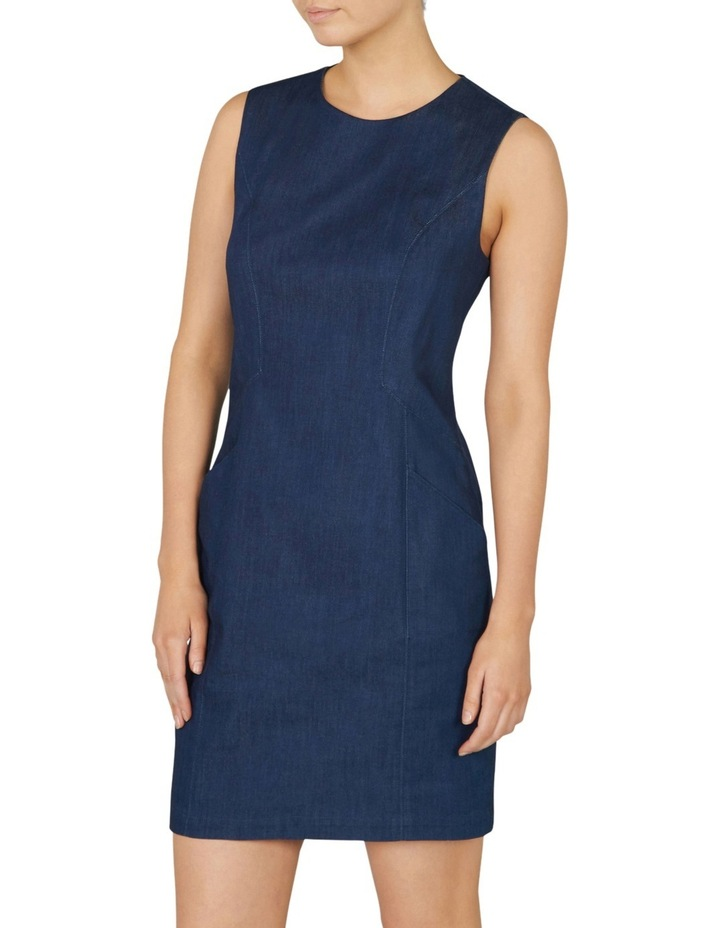 Smart Denim Dress image 2