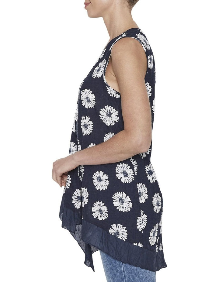 Floral Draped Top image 2