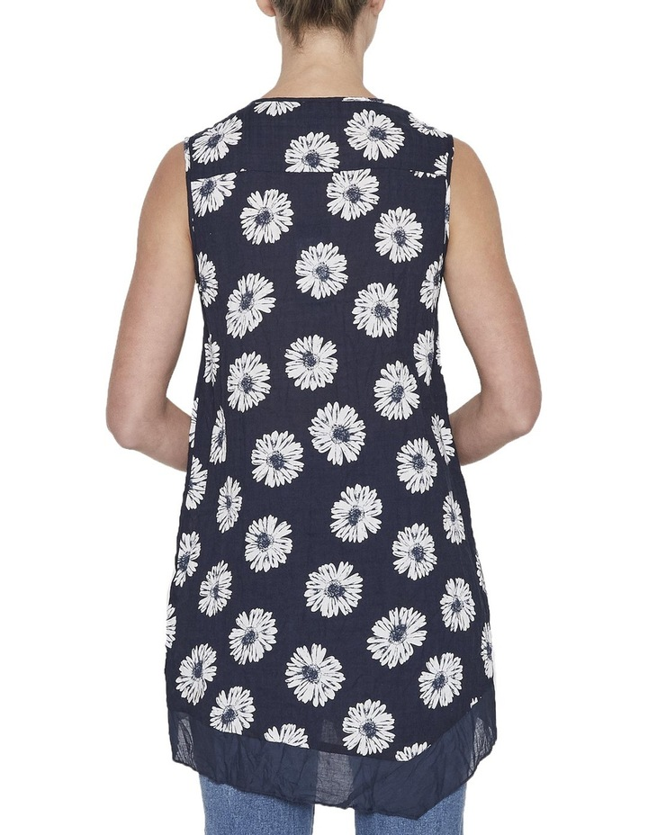 Floral Draped Top image 3