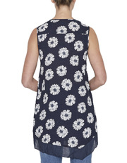 Gordon Smith - Floral Draped Top
