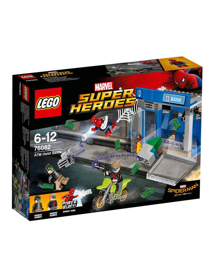 Super Heroes Spider-Man ATM Heist Battle 76082 image 1