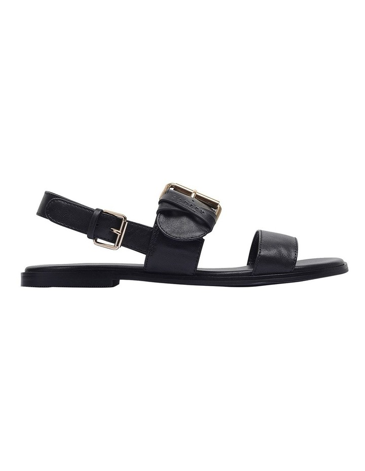Cross Keeper Black Flat Sandal image 1