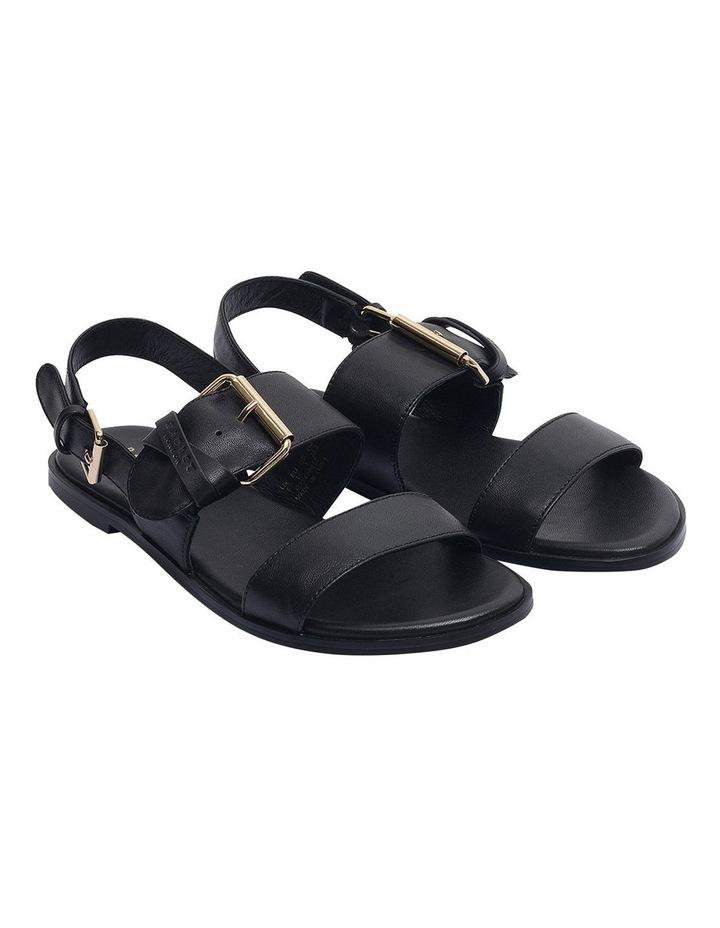 Cross Keeper Black Flat Sandal image 2