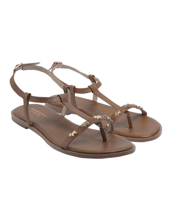 Dog Stud Tan Sandal image 2