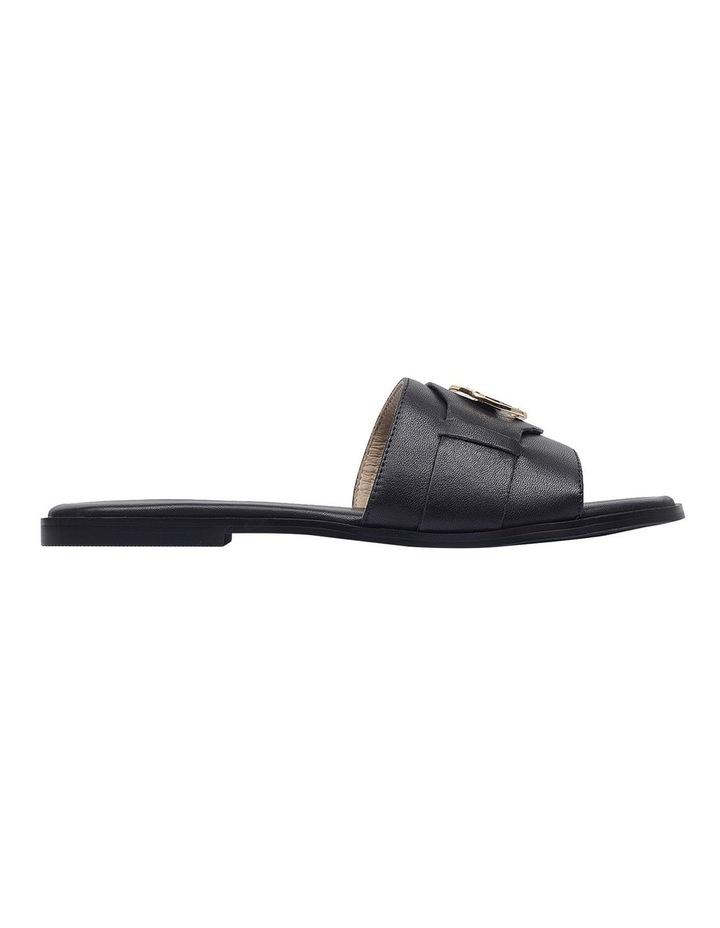 Iconic Black Flat Sandal image 1