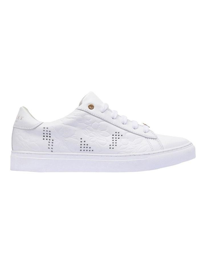 Floral Emboss White Sneaker image 1