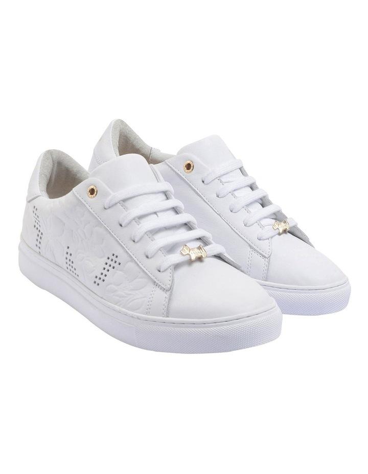 Floral Emboss White Sneaker image 2